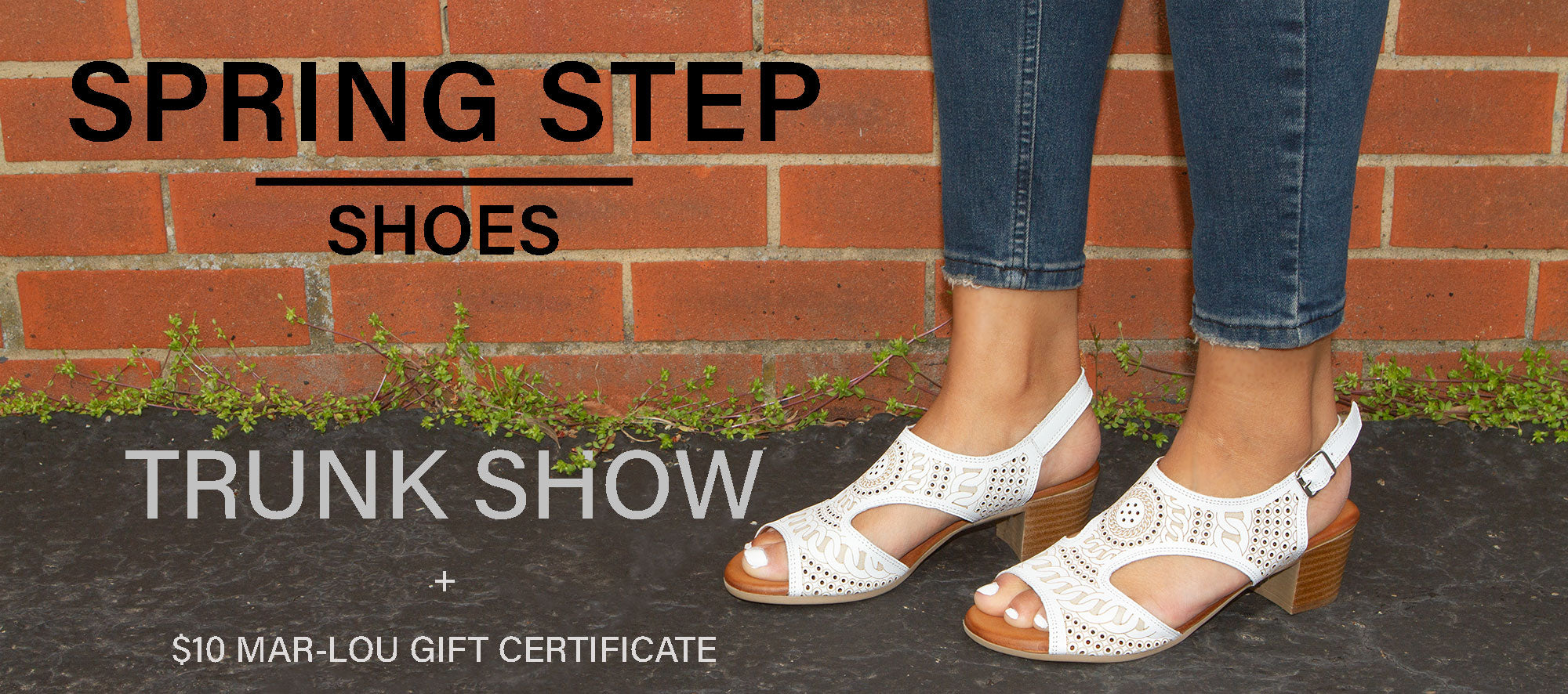 Spring Step Trunk Show Spring/Summer 2021 | Mar-Lou Shoes