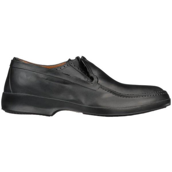 Tingley Dress Rubber Overshoe Moccasin in Black at Mar-Lou Shoes