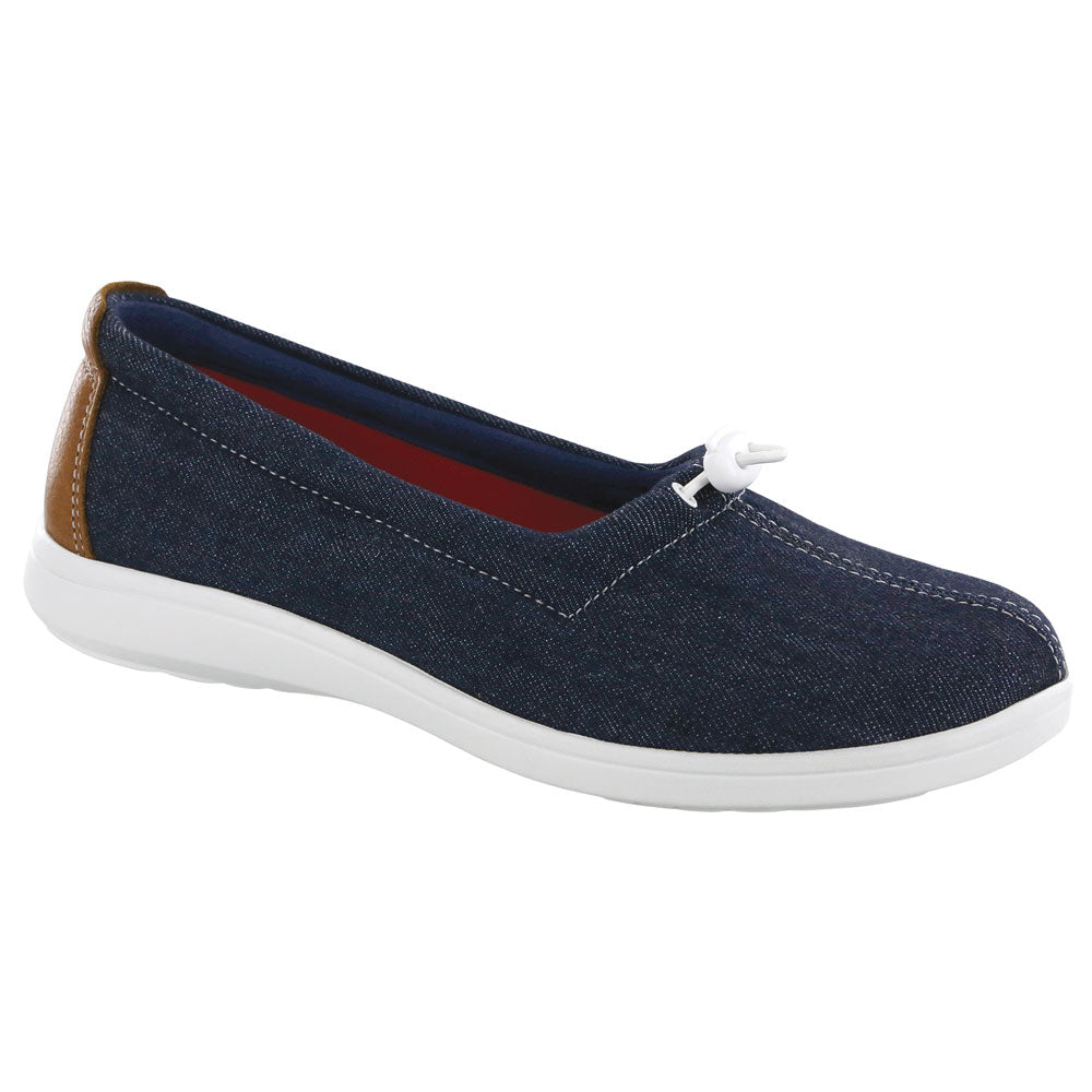 SAS Funk Loafer in Blue Jean at Mar-Lou Shoes