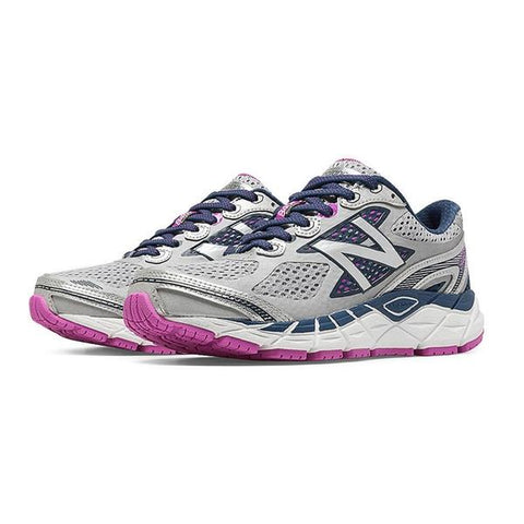 840v3 Women's Running Shoe in White/Purple