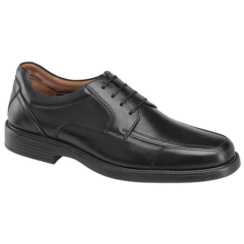 Stanton Moc Toe in Black Calfskin
