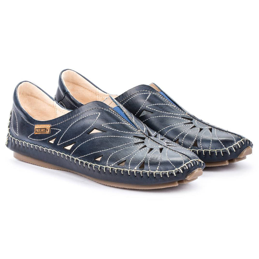 Pikolinos Jerez 578-7399 in Blue at Mar-Lou Shoes