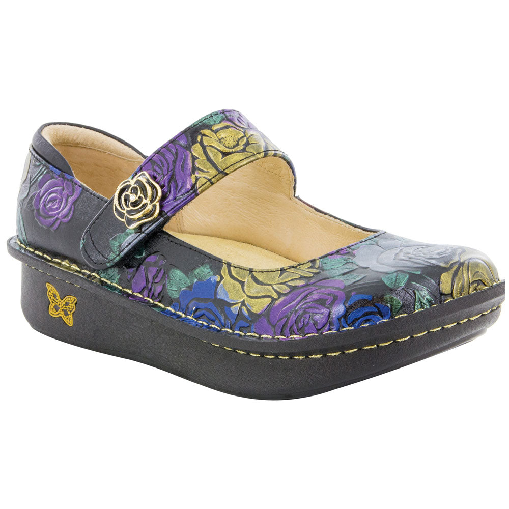 Paloma Mary Jane Workwomanship in Multicolored Leather