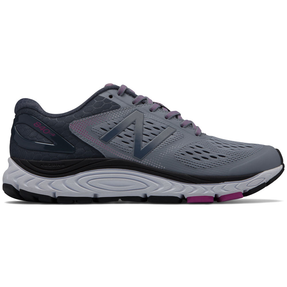 New Balance Women's 840v4 in Cyclone with Poisonberry at Mar-Lou Shoes