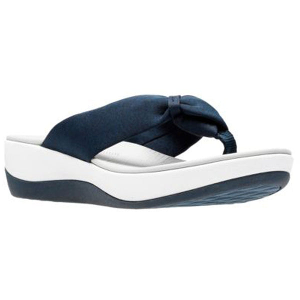 Arla Glison Sandal in Blue and White