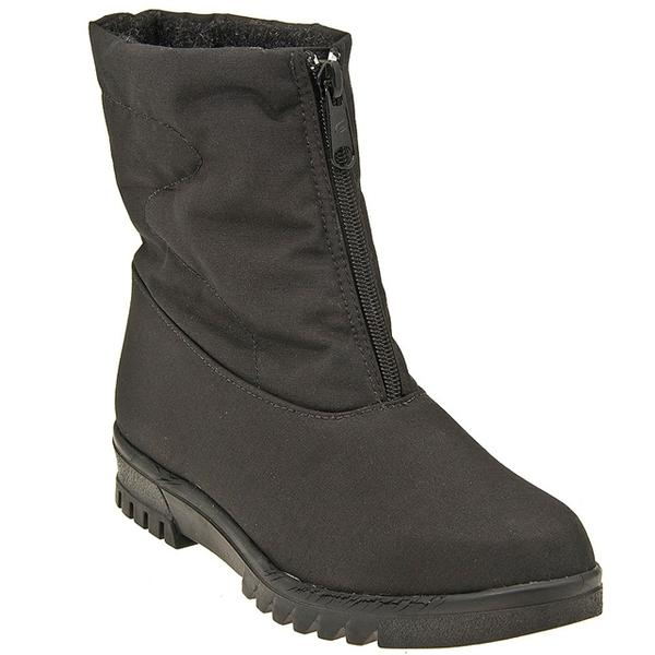 Toe Warmers About Town Waterproof Boot in Black at Mar-Lou Shoes