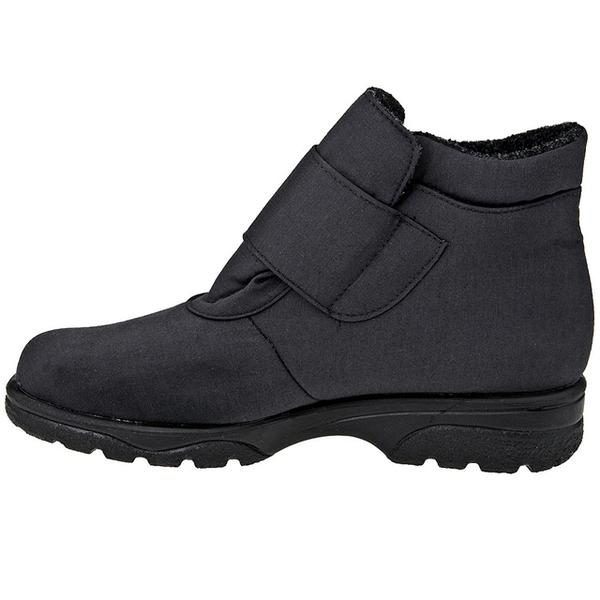 Toe Warmers Active Waterproof Bootie in Black at Mar-Lou Shoes