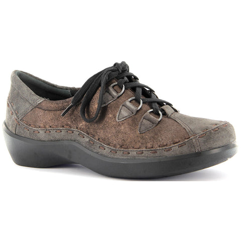 Ziera Allsorts in Espresso Brown Leather at Mar-Lou Shoes