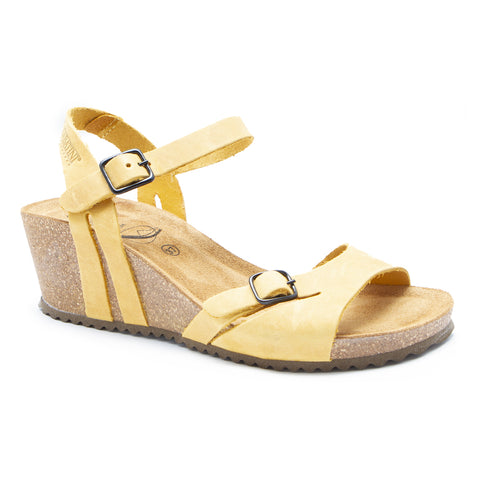 Sabatini Antonia Sandal Crazy Ocre at Mar-Lou Shoes