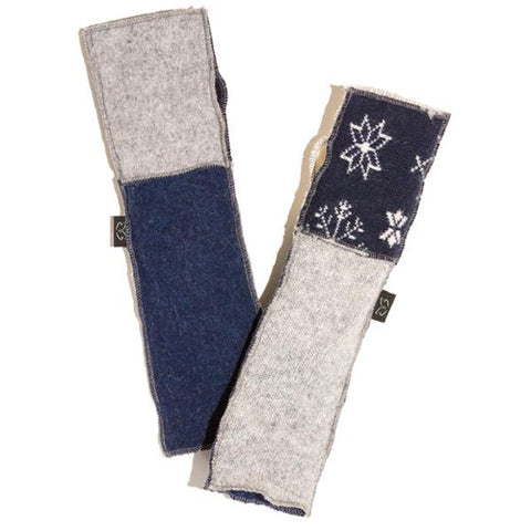 Baabaazuzu Women's Arm Warmers Denim | Mar-Lou Shoes