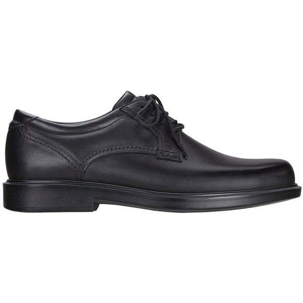 SAS Ambassador Lace-Up Oxford in Black Leather at Mar-Lou Shoes