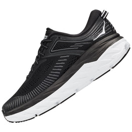 HOKA ONE ONE Women's Bondi 7 Black/White | Mar-Lou Shoes