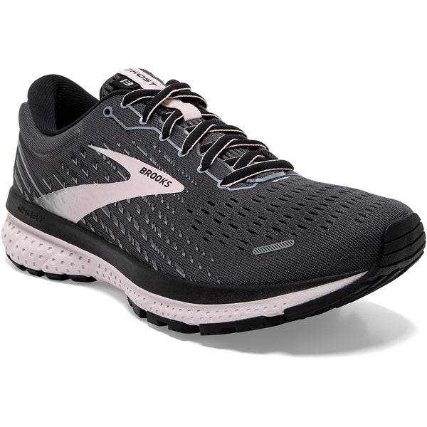 Brooks Ghost 13 Black/Pearl/Violet at Mar-Lou Shoes