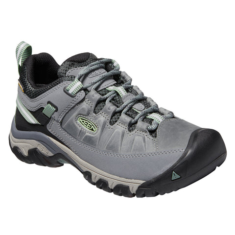 Keen Women's Targhee III Waterproof Bleacher Duck Green | Mar-Lou Shoes
