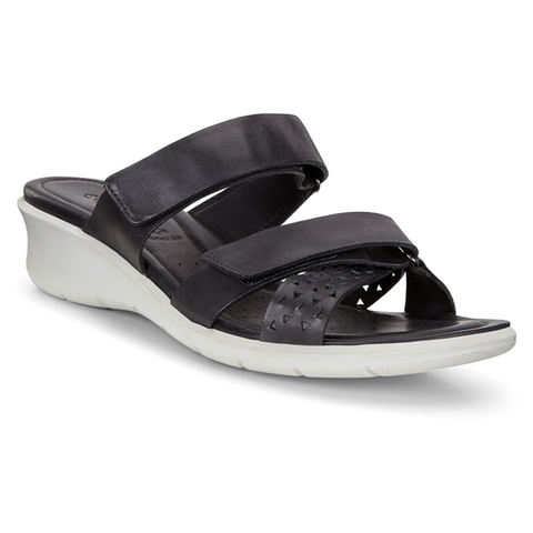 ECCO Women's Felicia Slide Sandal Black | Mar-Lou Shoes