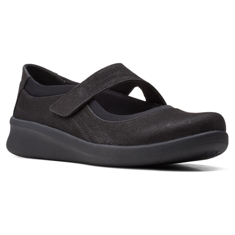 Clarks Sillian 2.0 Joy Mary Jane Black at Mar-Lou Shoes