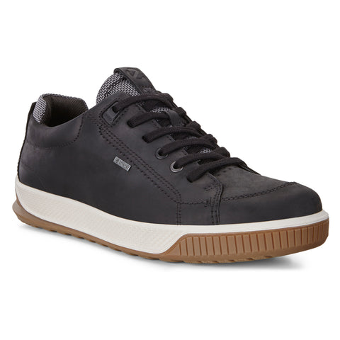 ECCO Men's Byway Tred Waterproof Black Sneaker | Mar-Lou Shoes