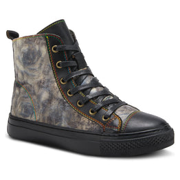 Spring Step Women's Combat Rose Boot Black | Mar-Lou Shoes