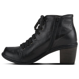 Spring Step Women's Zelanie Bootie Black Leather | Mar-Lou Shoes