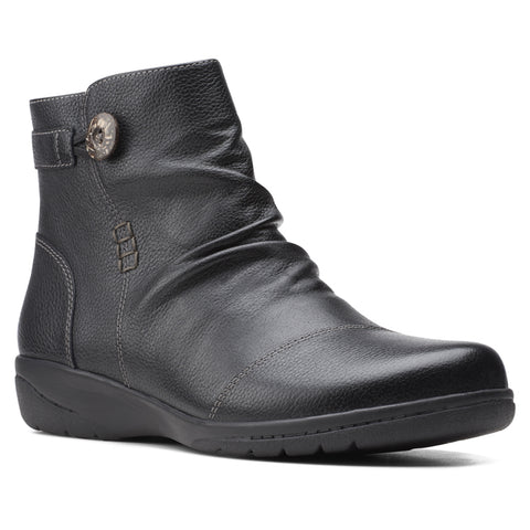 Clarks Women's Cheyn Zoe Boot Black | Mar-Lou Shoes