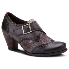 Spring Step Women's Therise Shootie Black Multi | Mar-Lou Shoes