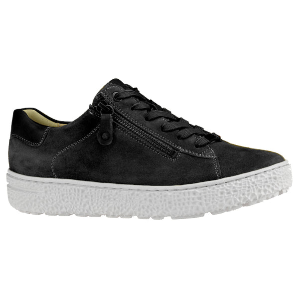 Hartjes Women's Phil Shoe Casual Black Nubuck | Mar-Lou Shoes