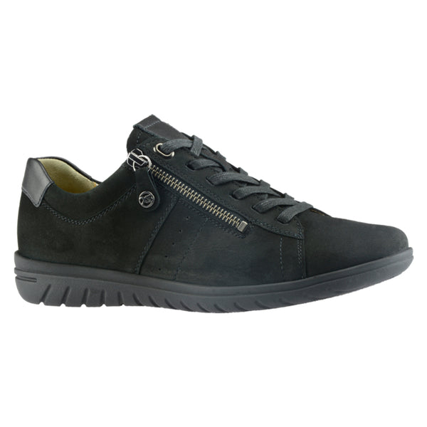 Hartjes Women's XS Casual Shoe Black Nubuck | Mar-Lou Shoes