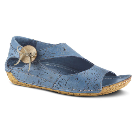 Spring Step Women's Lorelle Sandal Blue | Mar-Lou Shoes