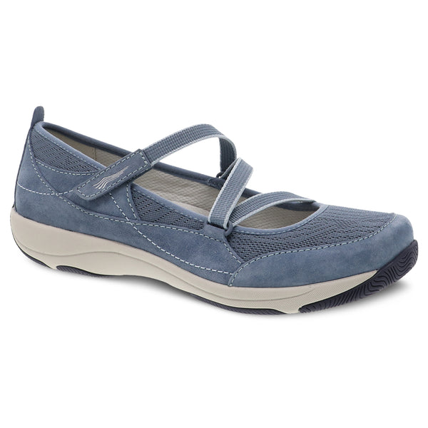 Dansko Hilda Mary Jane Denim Suede at Mar-Lou Shoes