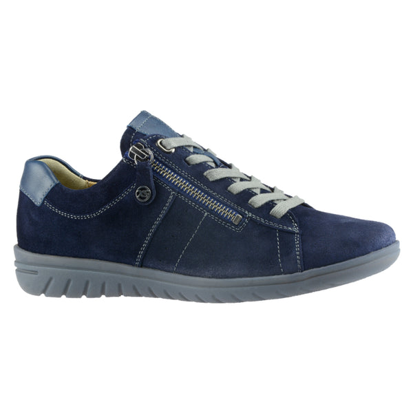 Hartjes Women's XS Casual Shoe Blue Nubuck | Mar-Lou Shoes