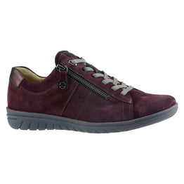 Hartjes Women's XS Casual Shoe Bordeaux Nubuck | Mar-Lou Shoes