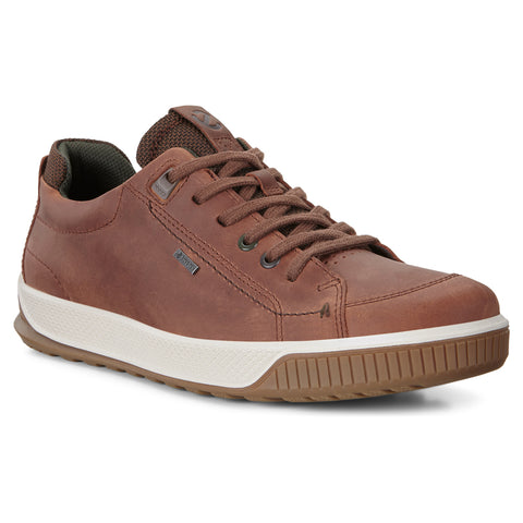 ECCO Men's Byway Tred Waterproof Brandy Sneaker | Mar-Lou Shoes