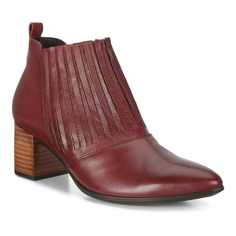 ECCO Shape 45 Bootie Brick Leather at Mar-Lou Shoes