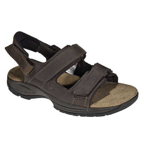 Dunham Men's St Johnsbury Sandal Brown | Mar-Lou Shoes