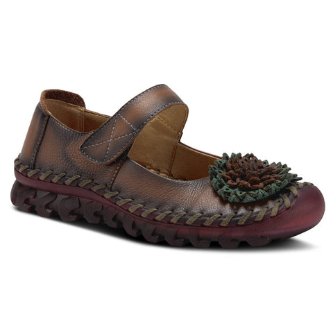 Spring Step Women's Hibiscae Mary Jane Brown | Mar-Lou Shoes