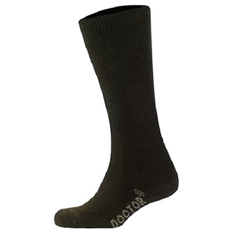Foot Zen Diabetic Crew Socks Brown | Mar-Lou Shoes