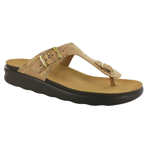 SAS Women's Sanibel Sandal Golden Cork | Mar-Lou Shoes