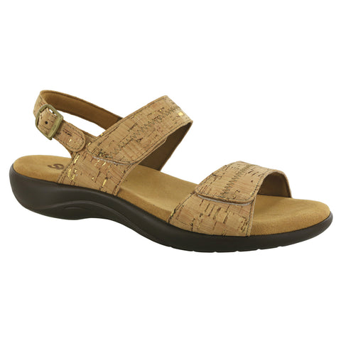 SAS Women's Nudu Sandal Cork | Mar-Lou Shoes
