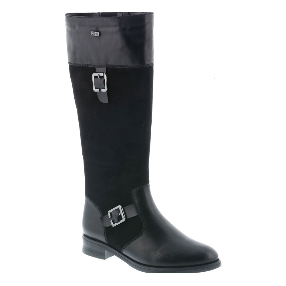 D85900 Boot in Black Leather