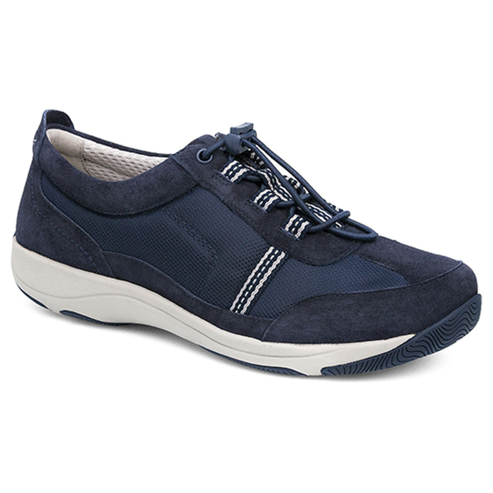 Helen in Navy Suede