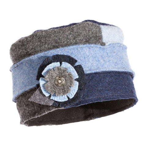 Baabaazuzu Women's Cloche Hat Denim | Mar-Lou Shoes