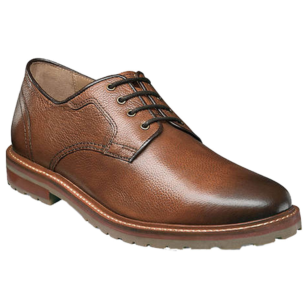 Estrabrook Plain Toe Oxford in Cognac Leather