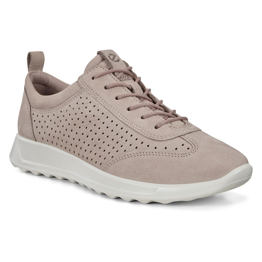 Ecco Women's Flexure Runner Grey Nubuck at Mar-Lou Shoes