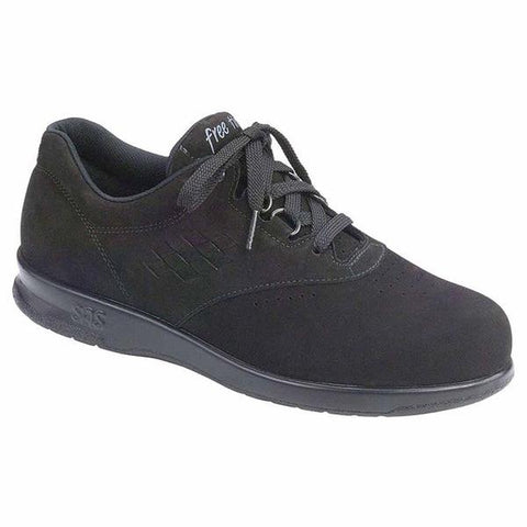 SAS Free Time in Charcoal Nubuck at Mar-Lou Shoes