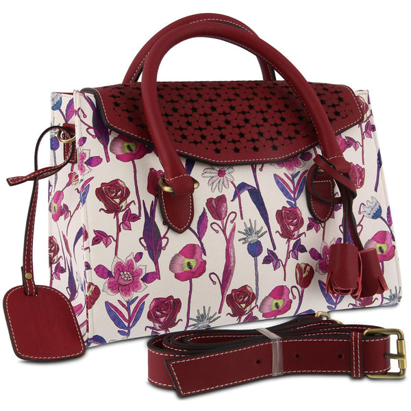 Galexia Handbag in Red Multi