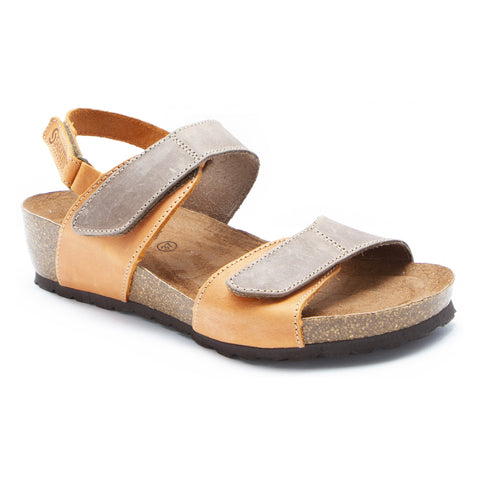 Sabatini Genoa Sandal Tortora Aranci at Mar-Lou Shoes