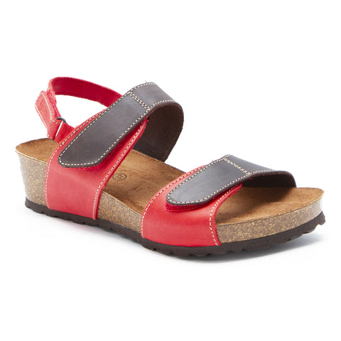 Sabatini Genoa Sandal T. Moro Rosso at Mar-Lou Shoes