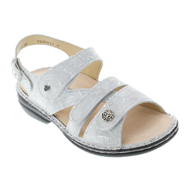 Finn Comfort Gomera Sandal in Flour Hair at Mar-Lou Shoes