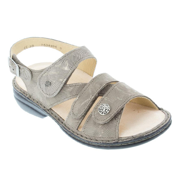 Finn Comfort Gomera Sandal in Grain Hair at Mar-Lou Shoes