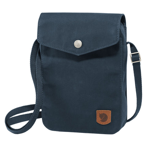 Fjällräven Unisex Greenland Pocket Shoulder Bag Storm | Mar-Lou Shoes